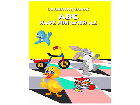 ABC - Have Fun With Me (Colouring Book)