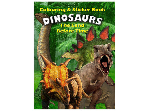 Dinosaurs - The Land Before Time (Colouring and Sticker Book)