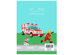 Fire and Rescue - A Helping Hand (Colouring Book)
