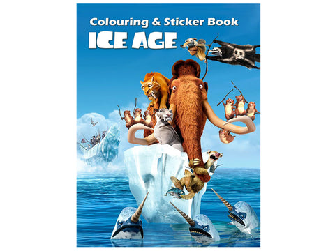 Ice Age (Colouring and Sticker Book)