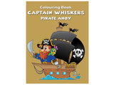 Captain Whiskers - Pirate Ahoy (Colouring Book)