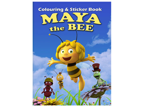 Maya the Bee (Colouring and Sticker Book)