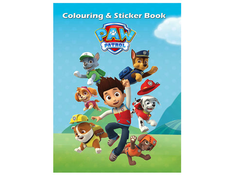 Paw Patrol (Colouring and Sticker Book)