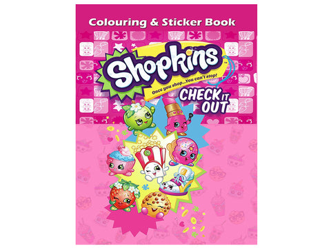 Shopkins (Colouring and Sticker Book)
