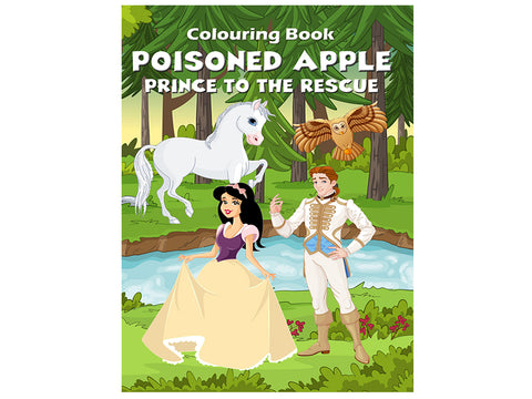 Poisoned Apple - Prince to the Rescue (Colouring Book)