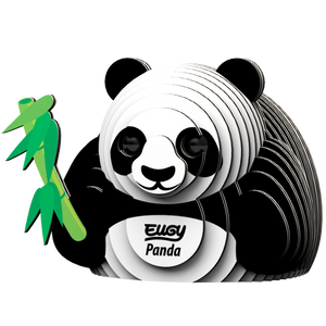 Eugy Panda 3D Puzzle — Educational Toy for Boys and Girls, 28 PIece Puzzle