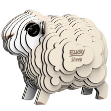 Load image into Gallery viewer, Eugy Sheep 3D Puzzle — Educational Toy for Boys and Girls, 28 PIece Puzzle