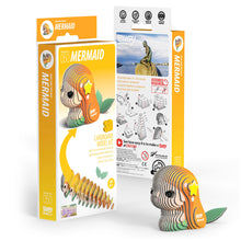 Load image into Gallery viewer, Eugy Mermaid 3D Puzzle — Educational Toy for Boys and Girls, 28 PIece Puzzle