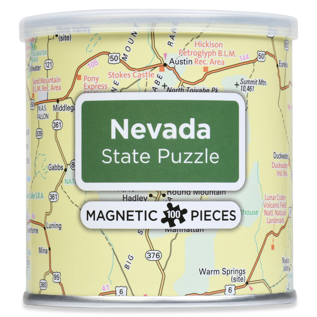 100 Piece Magnetic Puzzle - Nevada