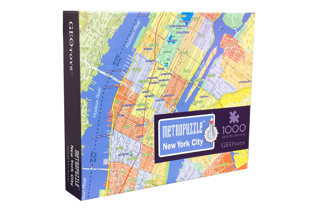 1000 pc jigsaw puzzle - New York Metropuzzle