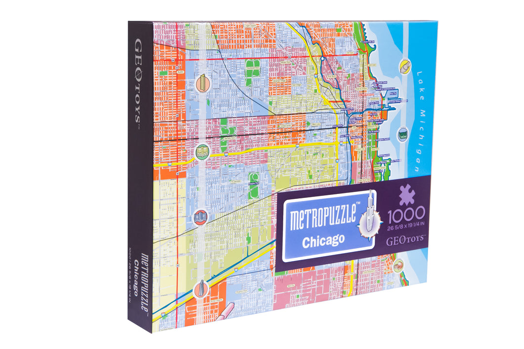 1000 pc jigsaw puzzle - Chicago Metropuzzle