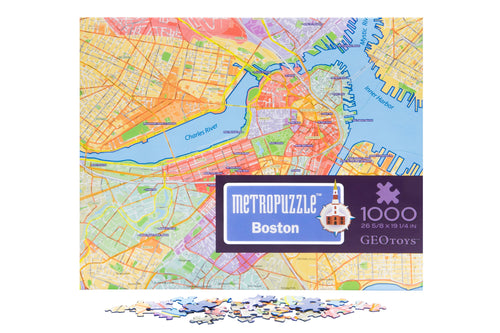 1000 pc jigsaw puzzle - Boston Metropuzzle