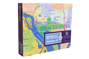 1000 pc jigsaw puzzle - Washington D.C. Metropuzzle