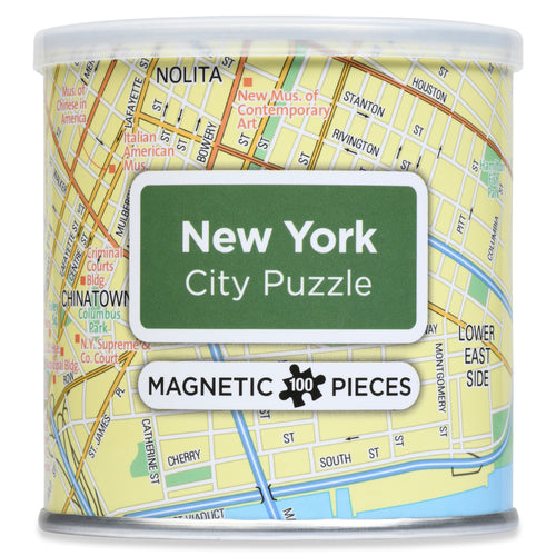 100 Piece Magnetic Puzzle - New York City