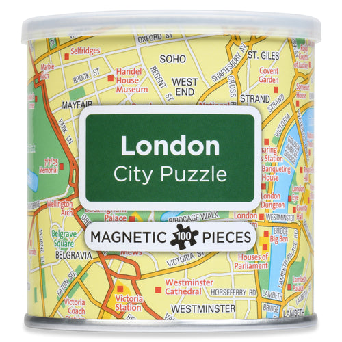 100 Piece Magnetic Puzzle - London