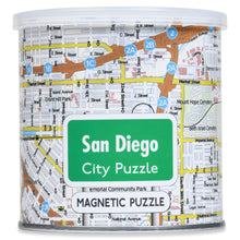 Load image into Gallery viewer, 100 Piece Magnetic Puzzle - San Diego