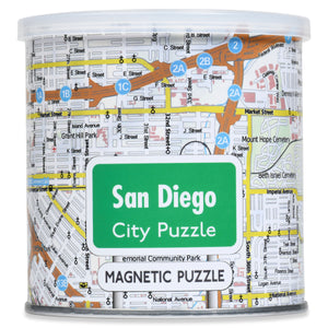 100 Piece Magnetic Puzzle - San Diego
