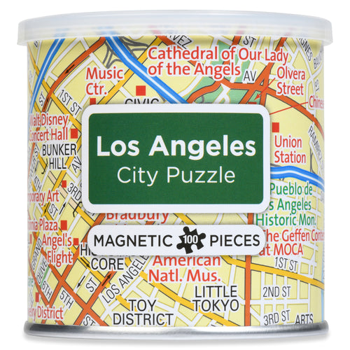 100 Piece Magnetic Puzzle - Los Angeles