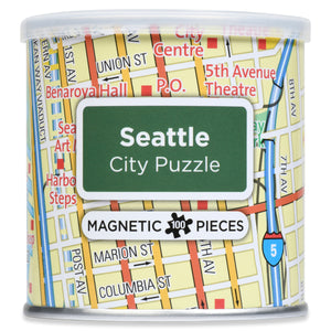 100 Piece Magnetic Puzzle - Seattle