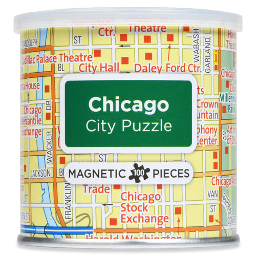 100 Piece Magnetic Puzzle - Chicago