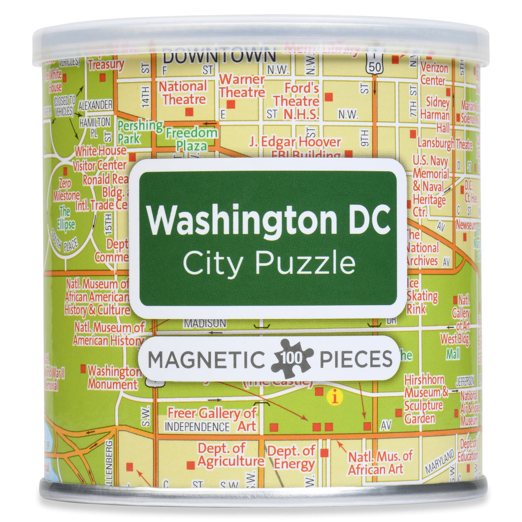 100 Piece Magnetic Puzzle - Washington D.C.