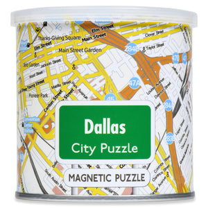 100 Piece Magnetic Puzzle - Dallas