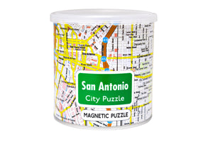 100 Piece Magnetic Puzzle - San Antonio