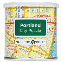 Load image into Gallery viewer, 100 Piece Magnetic Puzzle - Portland
