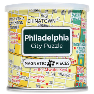 100 Piece Magnetic Puzzle - Philadelphia