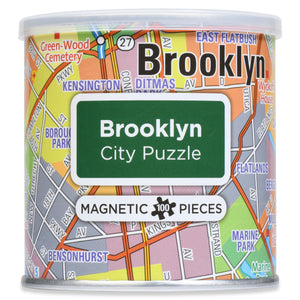 100 Piece Magnetic Puzzle - Brooklyn