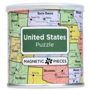 100 Piece Magnetic Puzzle - USA