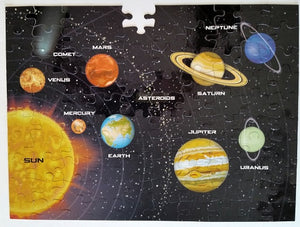 100 Piece Magnetic Puzzle - Solar System