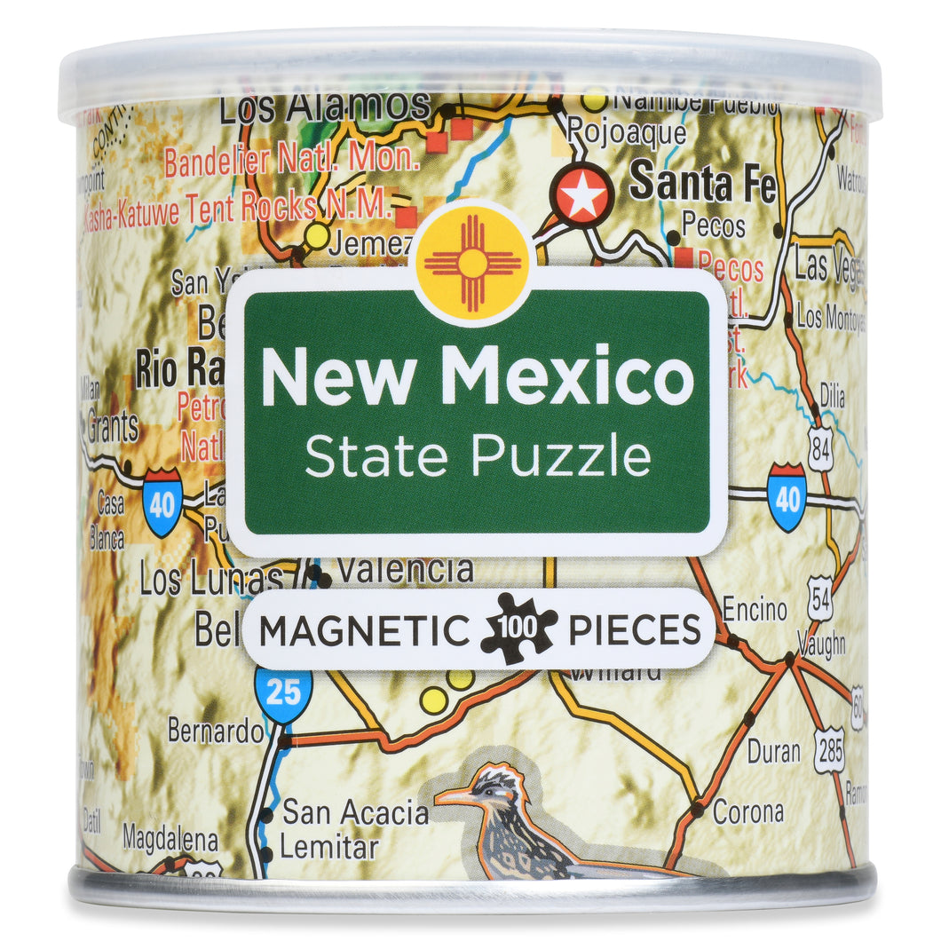 100 Piece Magnetic Puzzle - New Mexico