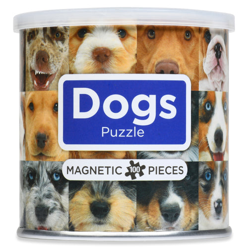 100 Piece Magnetic Puzzle - Dogs