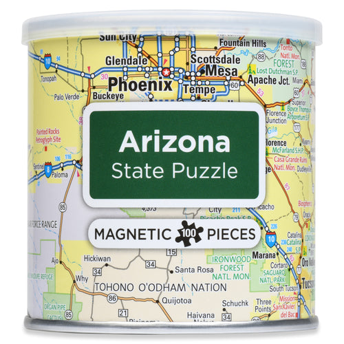 100 Piece Magnetic Puzzle - Arizona