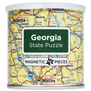 100 Piece Magnetic Puzzle - Georgia