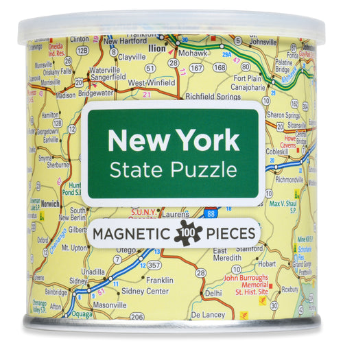 100 Piece Magnetic Puzzle - New York State
