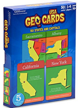 Load image into Gallery viewer, GeoCards USA