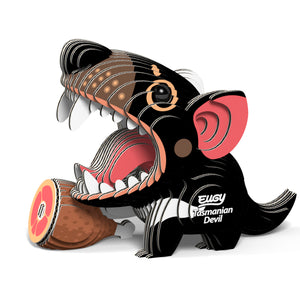 Eugy Tasmanian Devil 3D Puzzle — Educational Toy for Boys and Girls, 28 PIece Puzzle