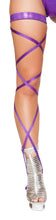 Load image into Gallery viewer, Shimmer Leg Strap with Attached Garter