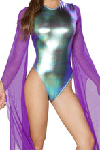 Load image into Gallery viewer, Flared Sleeve Bodysuit, Rompers, Roma Costume, Need 2 Rave