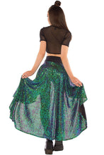 Load image into Gallery viewer, Calypso Skirt in Siren Sequin, Skirts, Little Black Diamond, Need 2 Rave