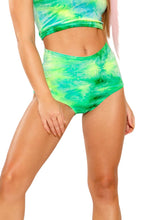 Load image into Gallery viewer, Tie-Dye High Waisted Shorts