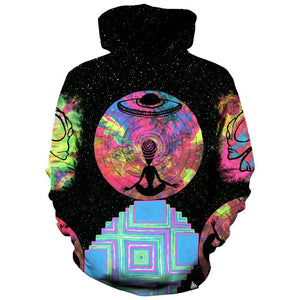 Set 4 Lyfe / JG Creationz - ABDUCTION HOODIE - Clothing Brand - Pullover Hoodie - SET4LYFE Apparel