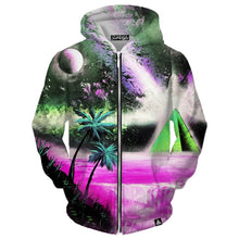 Load image into Gallery viewer, MIRAGE ZIP UP HOODIE