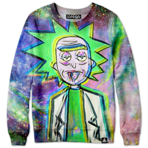 Set 4 Lyfe / Violet Hawks - TRIPPY RICK SWEATSHIRT - Clothing Brand - Premium Sweatshirt - SET4LYFE Apparel