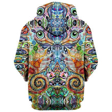 Load image into Gallery viewer, Set 4 Lyfe / Laura McGowan Art - CHAKRA SEAHORSE HOODIE - Clothing Brand - Pullover Hoodie - SET4LYFE Apparel