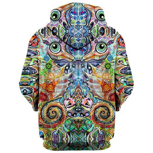 Set 4 Lyfe / Laura McGowan Art - CHAKRA SEAHORSE HOODIE - Clothing Brand - Pullover Hoodie - SET4LYFE Apparel