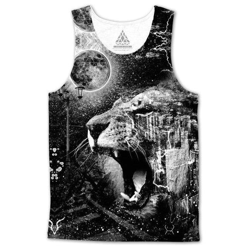Set 4 Lyfe / Brandon Millward - CONCRETE JUNGLE TANKTOP - Clothing Brand - Premium Tanktop - SET4LYFE Apparel