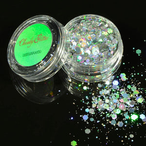 B&W Glitter Flakes Set, , Shenzen Top Focus Industrial, Need 2 Rave